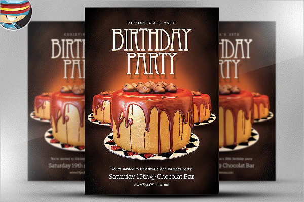 33 birthday flyer templates free premium download professional birthday party flyer template maxwellsz