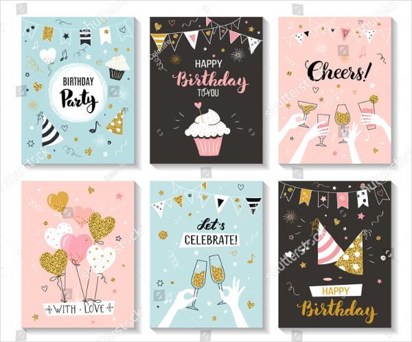 Birthday Invitation Card Templates