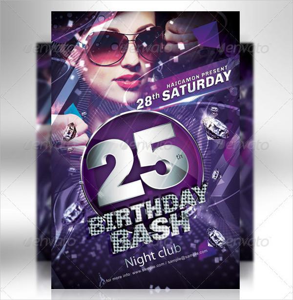 Birthday Party Invitation Flyer Bundle