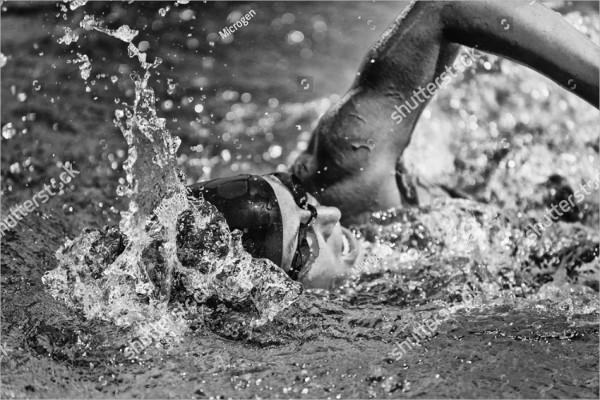 Black &White Sports Photography