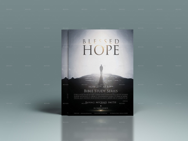 Blessed Hope Church Flyer Template