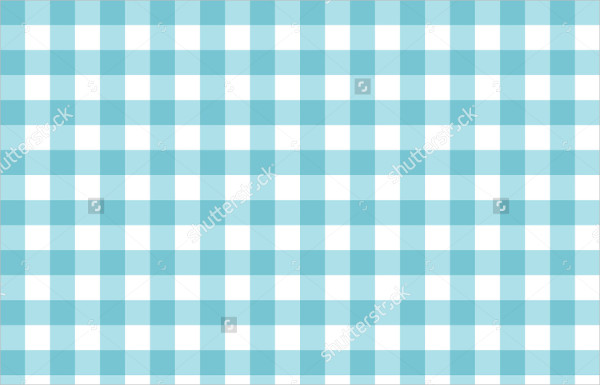 Blue Pattern Plaid Texture Background