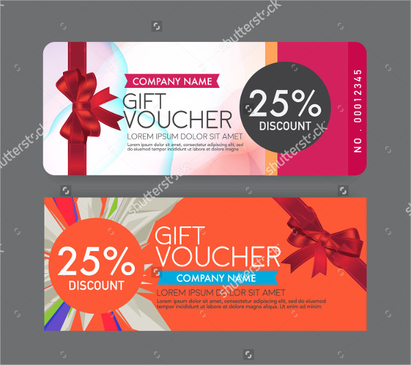 Company Gift Voucher Template