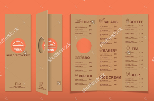 Branding Cafe Menu Infographics