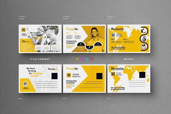 Creative Business Postcards