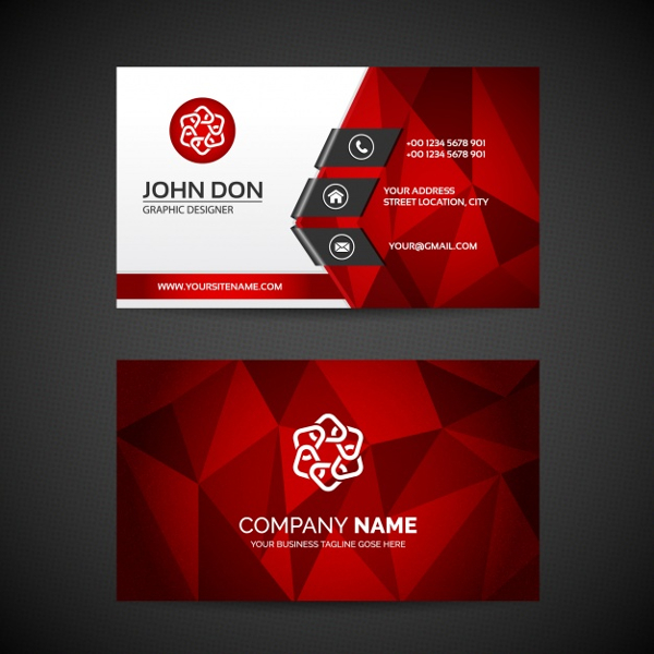 95 business card design templates free premium download free business cards wajeb Choice Image