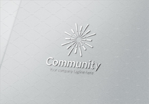 Business Community Logo Template