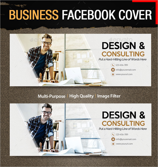Business Consulting Facebook Cover