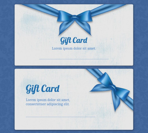 Business Gift Card Templates Free Download
