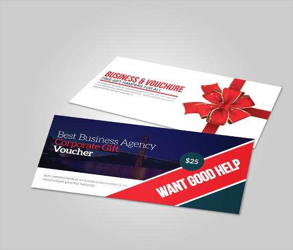 Business Gift Vouchers PSD