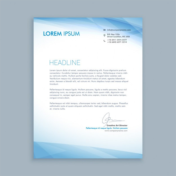 Free Business Letter Template