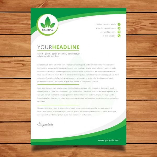 Business Letterhead Template Free