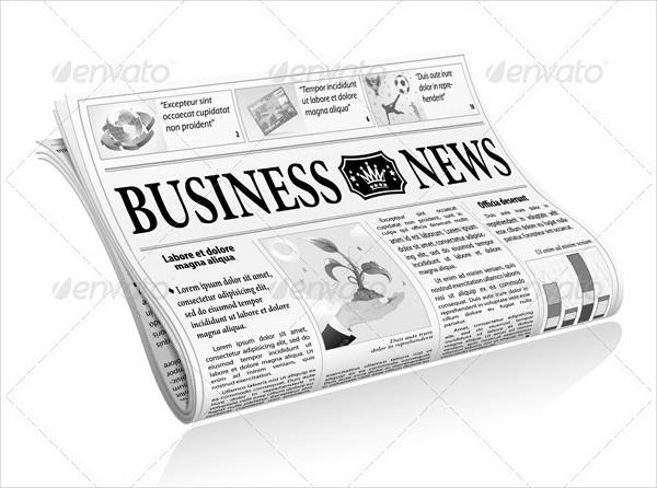Business Newspaper Template