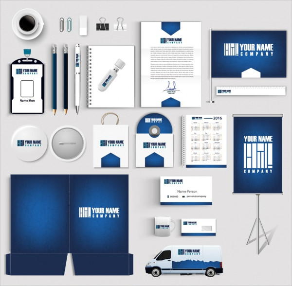 Business Stationery Collection Free Download