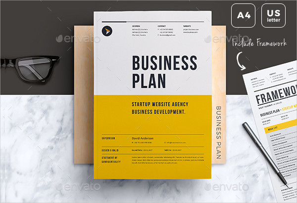 Professional Design Business Plan Template