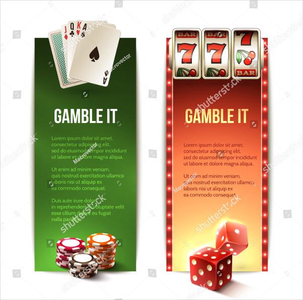 Casino Vertical Banner Templates Se