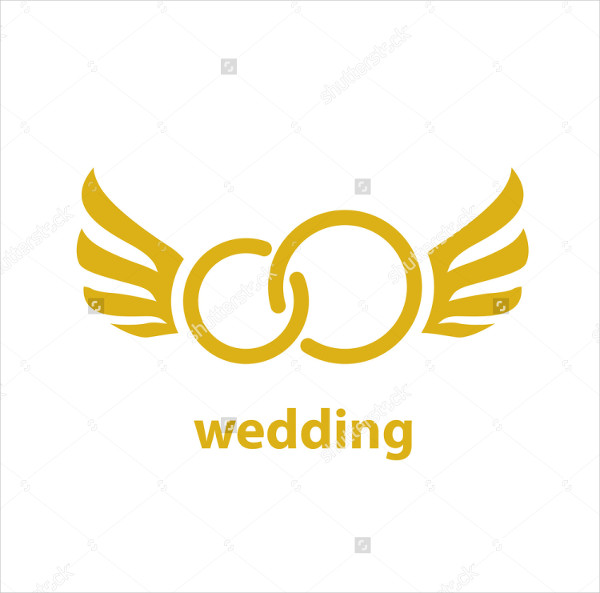 Attractive Wedding Logo Template