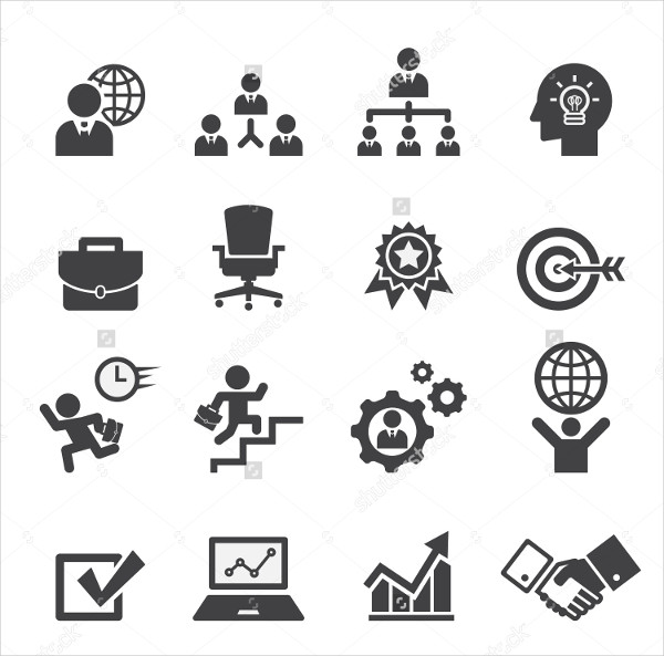 Cool Business Icon Set