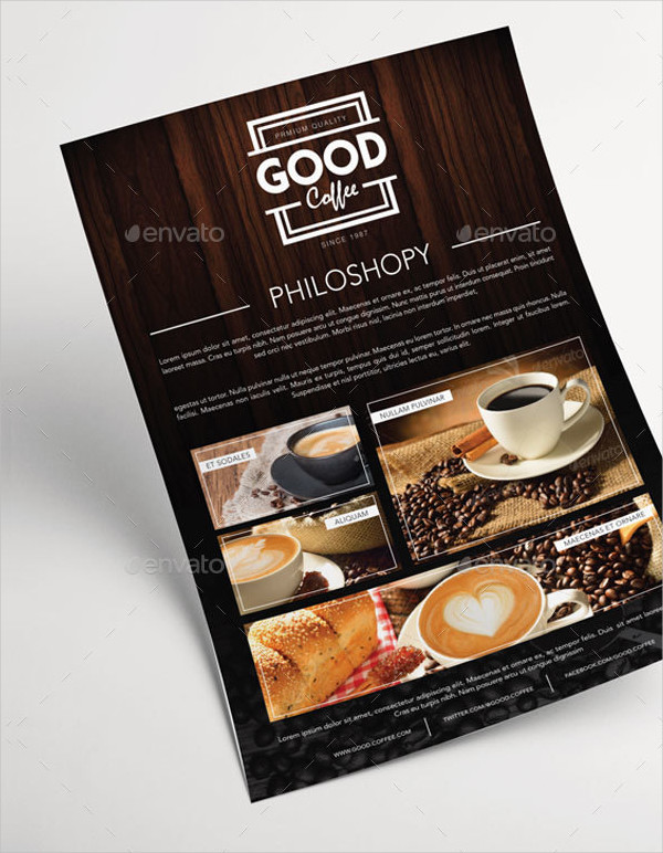 Classic Coffee Cafe Menu Template