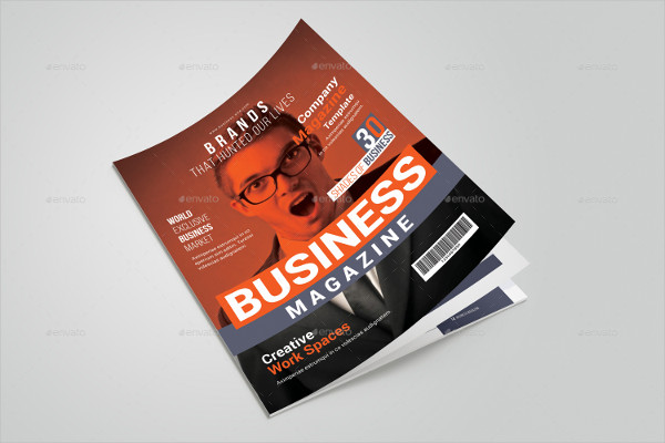 Classy Business Magazine Template
