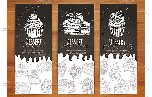 Clean Bakery Dessert Posters