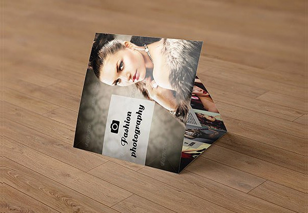 Clean & Modern Trifold Photography Brochure