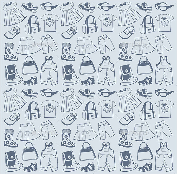 Collection of Clothes Pattern