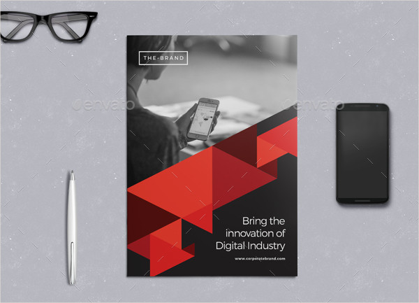 Business Project Brochure Template