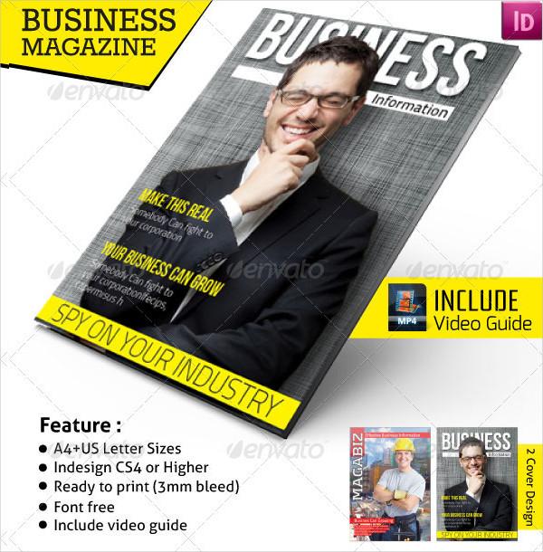 Attractive Business Magazine Template