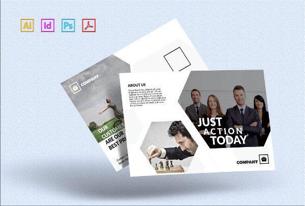 Creative Designer Postcard Template
