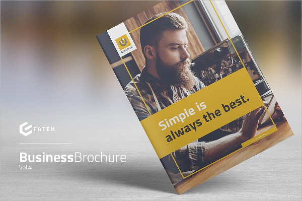 Best Business Agency Brochure Template
