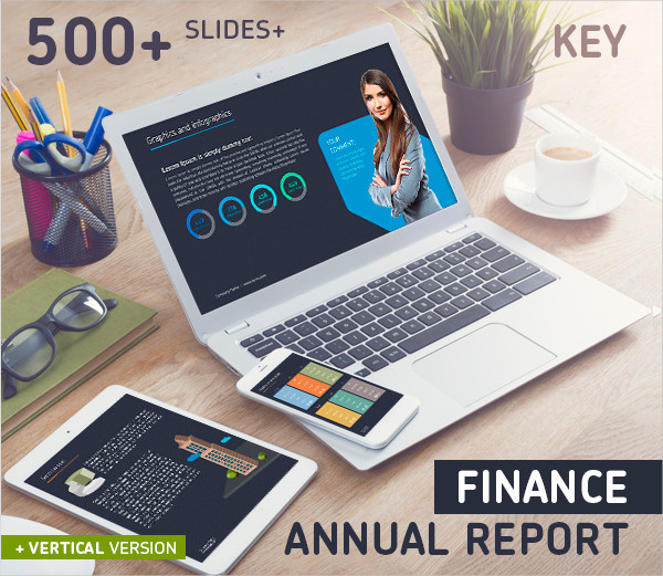 Business Annual Report Keynote Template