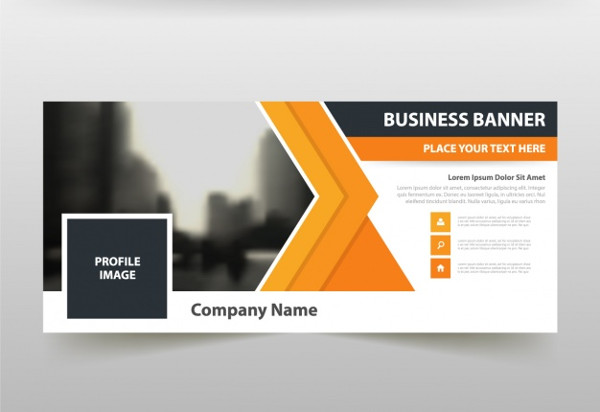 Corporate Facebook Cover Free Vector