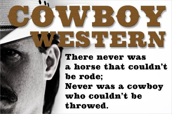 Cowboy Western Fonts