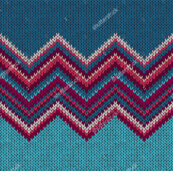 Beautiful Fabric Pattern in Blue