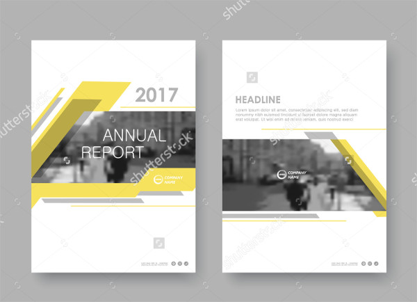 Creative Business Annual Report Template