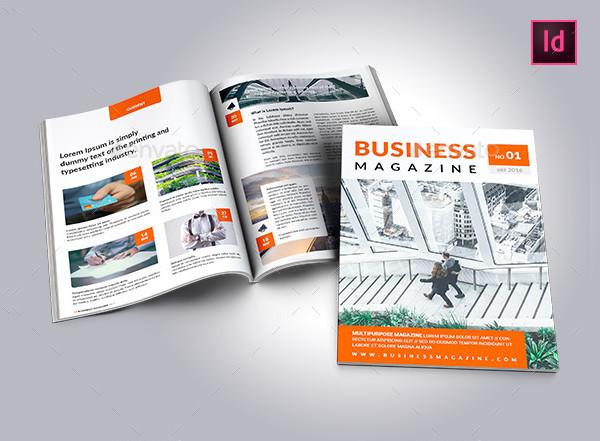 Creative Business Magazine Template