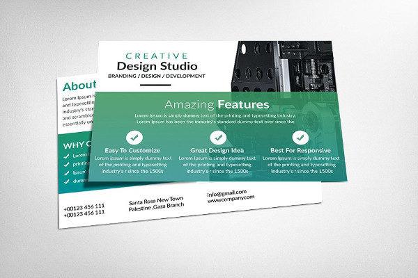 Creative Design Business Postcards