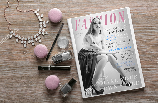 Special Fashion Products Magazine Template
