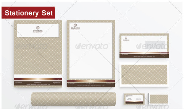 Customizable Pattern Stationery Design