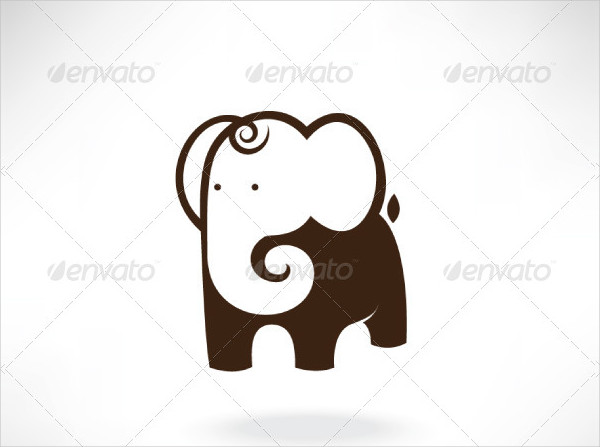 Cute Elephant Drawing