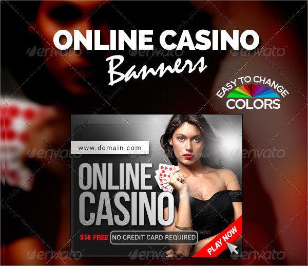 Online Casino Banner Templates