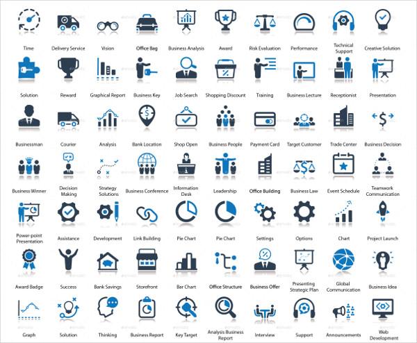 Designed 300 Business Icon Set
