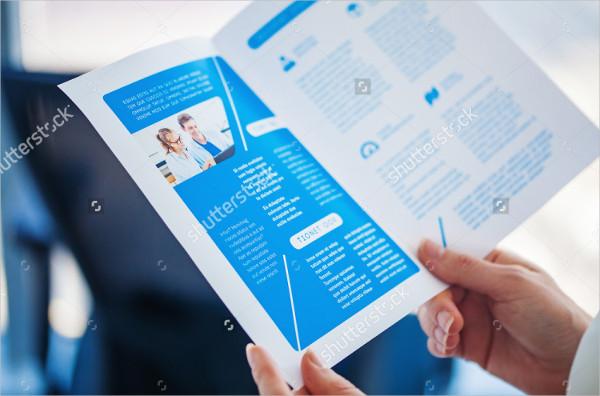 Designed Brochure Mock-Up