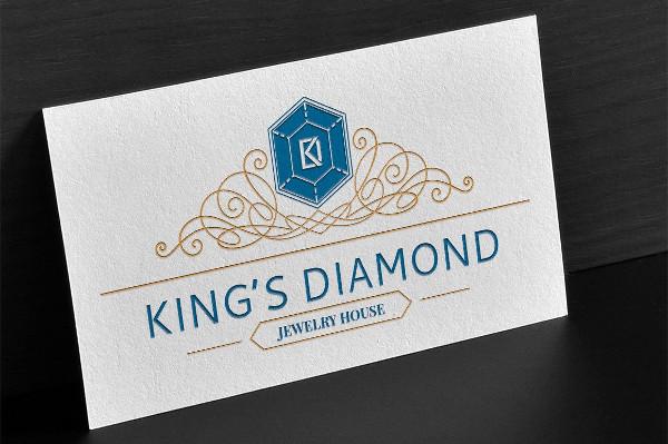 Kings Diamond Logo Template