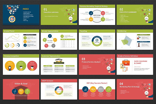 Digital Marketing Strategy Presentation Template