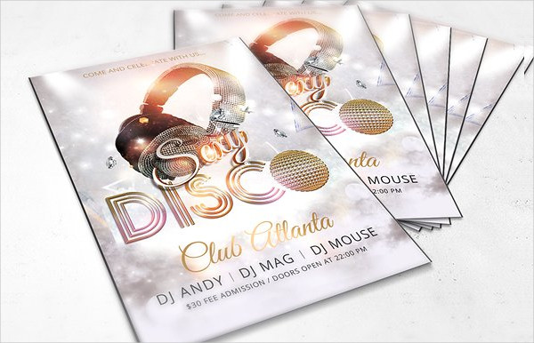 Disco Dance Party Flyer