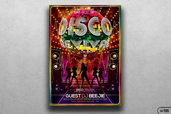 Disco Revival Flyer Templates