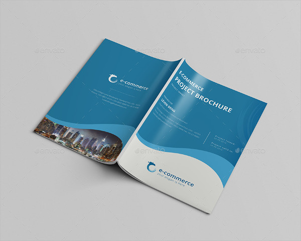 E-Commerce Business Brochure Template