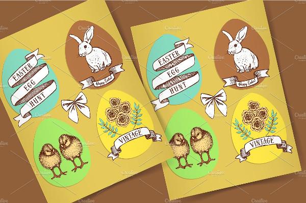 Cute Easter Egg Hunt Poster